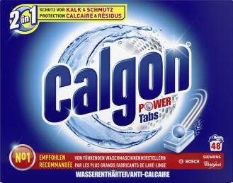 Calgon Tabs 2in1 48er 650G
