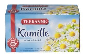 Teekanne Kamille 20er 35G