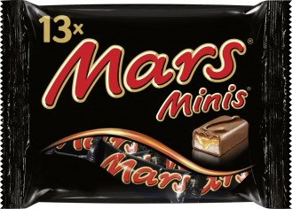 MARS MINI, Inhalt: 13 Stück je Beutel.