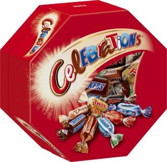 Celebrations, Inhalt: 21 Stück je Packung.