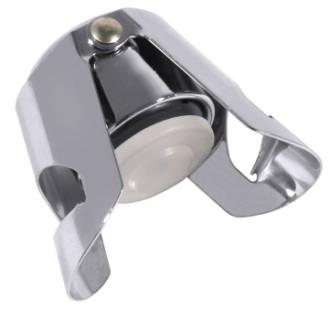 Sektflaschenverschluss verchromt, hochglänzend Durchmesser: 3,5 cm, Höhe: 5,5 cm