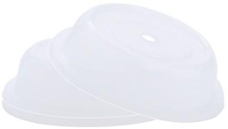 Tellerglocke, transparent-weiß             Tellerdurchmesser: 27 cm Höhe: 6 cm