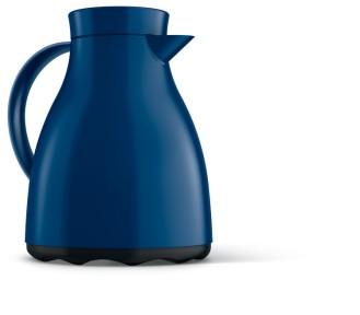 Isolierkanne EASY CLEAN, Inhalt: 1 Liter, von Emsa, Farbe: blau,  Spülmaschinenfest,