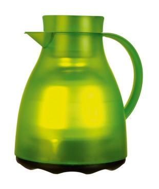 Isolierkanne EASY CLEAN, Inhalt: 1 Liter, von Emsa, Farbe: hellgrün transluzent, spülmaschinenfest, Höhe: 220 mm