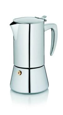 Kela Espressokanne Latina Edelstahl 18/10 17cm  9,5cmØ 200ml