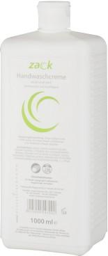 HANDWASCHCREME ZACK rosé (GVS) - 1000ml  EUROFLASCHE (System Euro-Flasche) silikonfrei