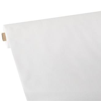 PAPSTAR Tischdecke, stoffähnlich, Vlies soft  selection plus 25 m x 1,18 m weiss auf Rolle