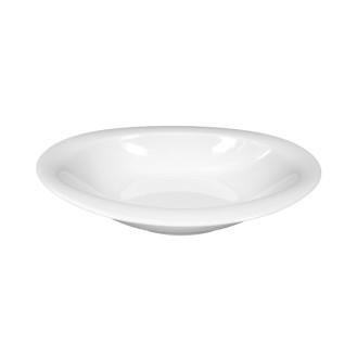 Suppenteller TOP LIFE, oval, Durchmesser: 21 cm, uni weiss, Seltmann Porzellan