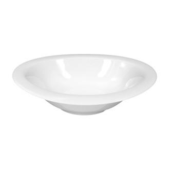 Schüssel TOP LIFE, oval, Durchmesser: 25 cm, Höhe: 4,4 cm, uni weiss, Seltmann Porzellan