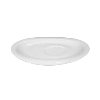 Kombiuntertasse TOP LIFE, Durchmesser: 19 cm, für Kaffeeobertasse, Henkelbecher, Frühstücksob., uni weiss, Seltmann Porzellan
