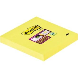 Post-it® Haftnotiz Super Sticky Notes 76 x 76 mm  (B x H) narzissengelb 90 Bl.