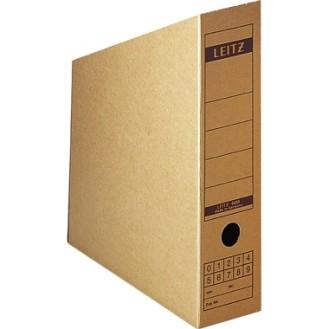Leitz Stehsammler 8 x 32 x 26,5 cm (B x H x T)  DIN A4 Werkstoff: Wellpappe  recycelt/Natronpapier, kaschiert naturbraun