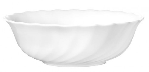 Müslischale 16 cm Form Trianon uni weiß - ARCOPAL Höhe 5,2 cm