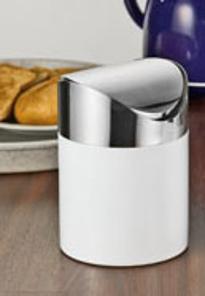 Tischabfallbehälter MOON,  Durchmesser: ca. 120 mm, Höhe: 170 mm,