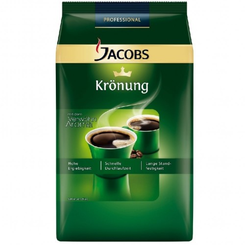 Jacobs Krönung, Inhalt: 1 kg gemahlener Kaffee.