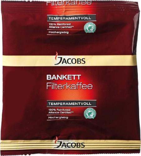 Jacobs Kaffee BANKETT Temperamentvoll, Inhalt: 60 g, gemahlen.