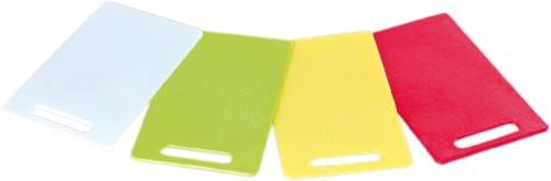 Schneidebrett aus PE-Kunstoff, gelb spülmaschinengeeignet