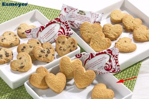 Coppenrath Cookie-Herzen Vanille Inhalt: 200 Stück à 5 g je Karton.