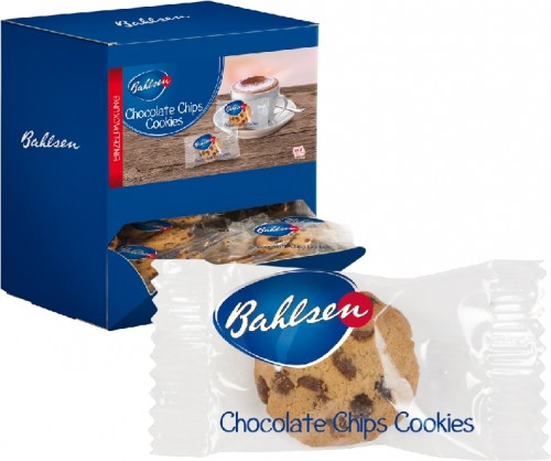 Bahlsen CHOCOLATE CHIPS COOKIES, Inhalt: ca. 200 Stück à 6 g je Spenderbox.