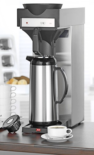esmeyer ihr ausstatter f r betrieb und einrichtungen kaffeemaschine 170 mt von melitta. Black Bedroom Furniture Sets. Home Design Ideas