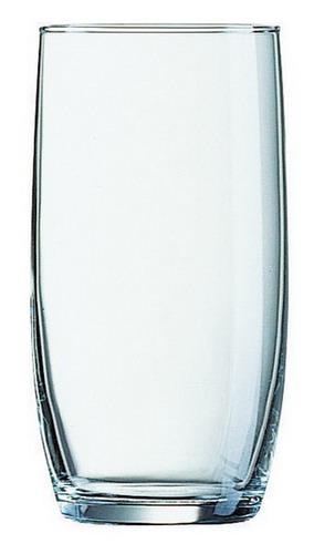 Becherglas BARIL, Inhalt: 0,25 Liter, Höhe: 121 mm, Durchmesser: 60 mm, Füllstrich bei 0,2 Liter.
