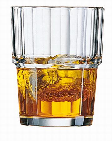 Becher-/Saftglas NORVEGE, Inhalt: 0,2 Liter, Höhe: 88 mm, Durchmesser: 72 mm, stapelbar, Arcoroc.