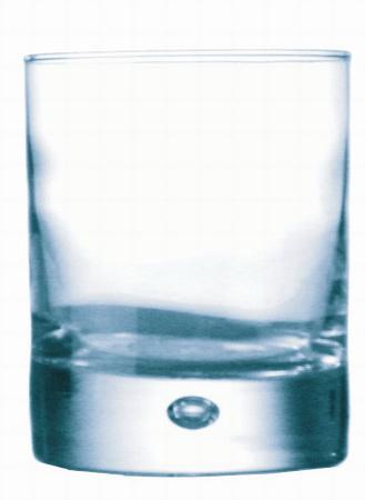 Becherglas DISCO, Inhalt: 0,26 Liter, Höhe: 93 mm, Durchmesser: 76 mm, Durobor, auch mit Füllstrich erhältlich.