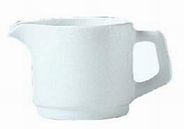 Kaffeekanne 32 cl Form Restaurant uni weiß ARCOPAL ohne Deckel