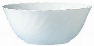 Salatschale 24 cm Form Trianon uni weiß - ARCOPAL Inhalt: 2,5 l, Höhe: 9,6 cm