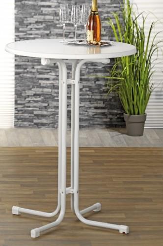 esmeyer ihr ausstatter f r betrieb und einrichtungen stehtisch merkur wei durchmesser 80cm. Black Bedroom Furniture Sets. Home Design Ideas