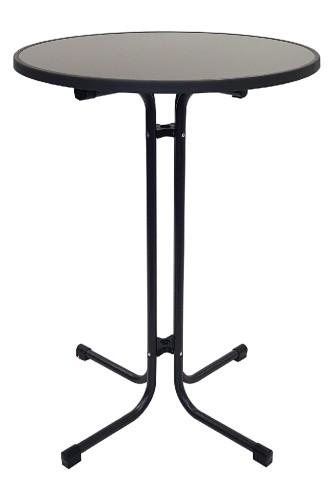 Stehtisch MERKUR anthrazit Durchmesser: 80cm, Höhe: 109cm