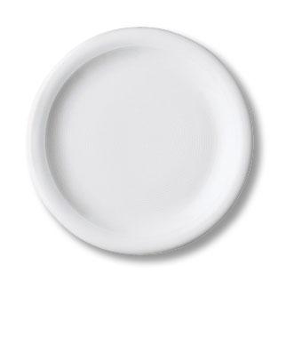 Dessertteller, Durchmesser: 19 cm, Thomas TREND, Porzellan, uni weiss