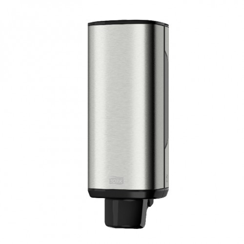 Tork Edelstahl-Spender für Schaumseife Kapazität: 1000 ml Flaschen Maße: H 289 x B 106 x T 107mm