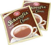 50 mal SCHOKOFIX feine Trinkschokolade Kakaopulver, schnell löslich in Wasser oder Milch, Inhalt: 50 Portionen à 25 g,