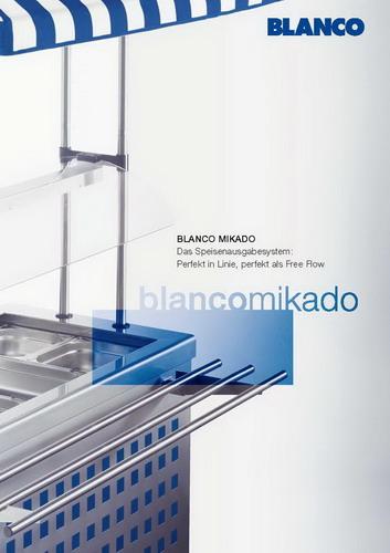Sonderkatalog Blanco Mikado Speisenausgabesystem zum Download hier im Shop