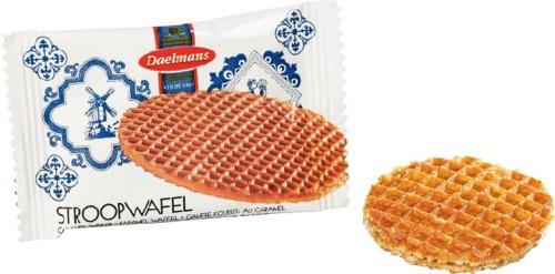 Daelmans Mini STROOPWAFEL, Inhalt: 200 Stück à 8 g je Karton.