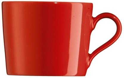 Kaffeeobertasse 0,21 l Form Tric - hot (rot)