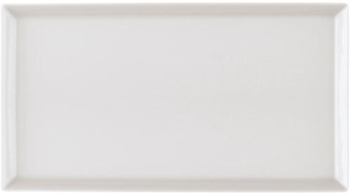 Arzberg Servierplatte eckig 21x33cm TRIC WEISS