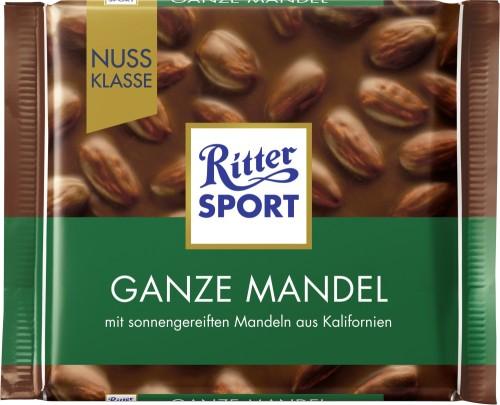Ritter Sport Ganze Mandel Nuss-Klasse 100G