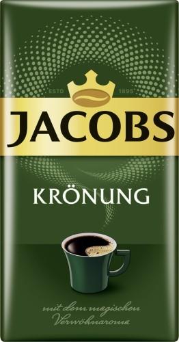 Jacobs Krönung, Inhalt: 500 g gemahlener Kaffee.