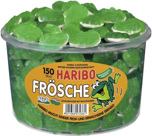Haribo Frösche Schaumzucker 150ST