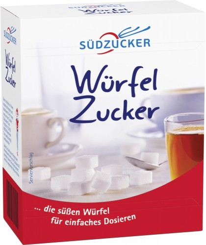 Südzucker Würfelzucker, Inhalt: 500g á Packung.