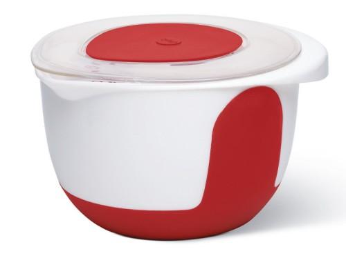 Emsa Smart Kitchen rot/weiss Rührtopf 3l mit Deckel