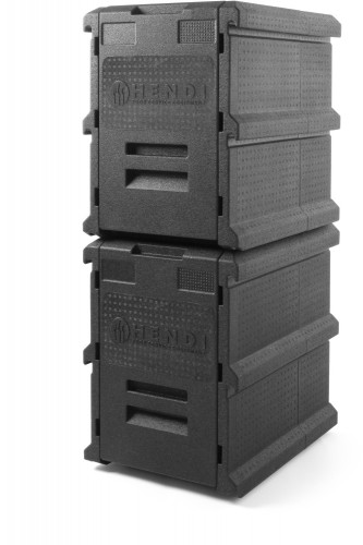 HENDI Thermo Catering Container - 100 Liter -  Gastronorm 1/1 - 635x465x(H)660 mm Außen