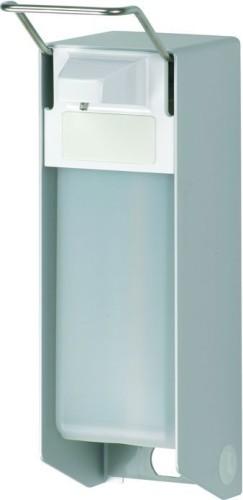 MEDInation EURO Spender  Material: Aluminium Farbe: silber eloxiert