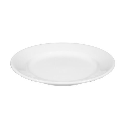 Dessertteller TOSCANA, Durchmesser: 21 cm, Höhe: 2,8 cm, weiss, Seltmann Porzellan