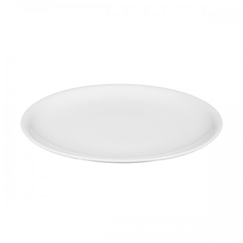 Speiseteller COMPACT, Durchmesser: 25 cm, uni weiss, Seltmann Porzellan
