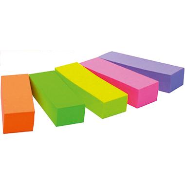 Post-it® Haftstreifen Page Marker 15 x 50 mm (B x  H) 70g/m 1 x neonorange, 1 x neongrün, 1 x  neongelb, 1 x neonpink, 1 x neonviolett 100