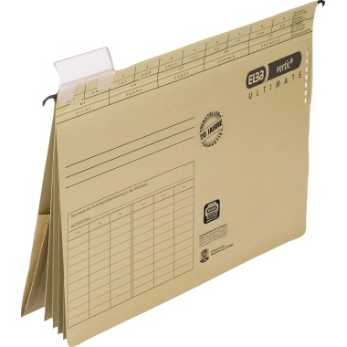 ELBA Hängehefter vertic® ULTIMATE® DIN A4 240g/m  Karton naturbraun