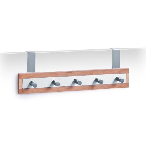 Zeller Türhängeleiste, Bamboo/Metall verchromt
